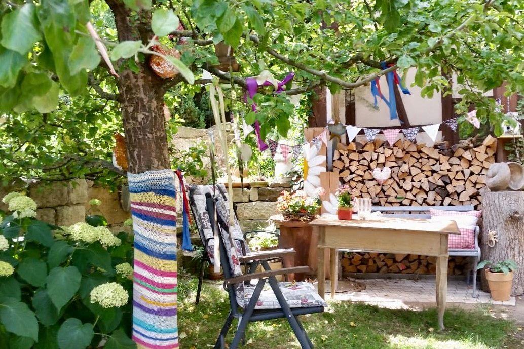 Ferienwohnung Unterkunft Großeibstadt Bad Königshofen